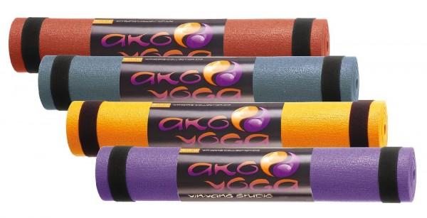 Yogamatte Yin-Yang Studio orange 60x183cm 4,5mm dick