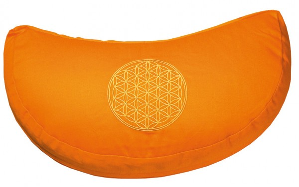 """Meditationskissen mit Inlet """"BDL"""" Baumwolle(80%), Polyester(20%) orange"""